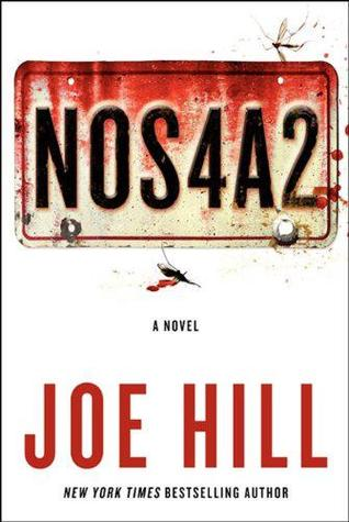 Book cover: N0S4A2 (number plate)