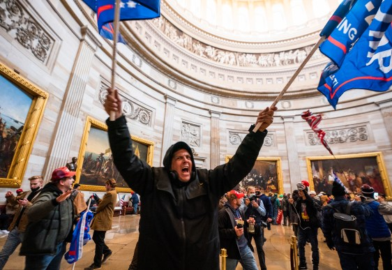 Delighting in causing complete chaos': what's behind Trump supporters' brazen  storming of the Capitol