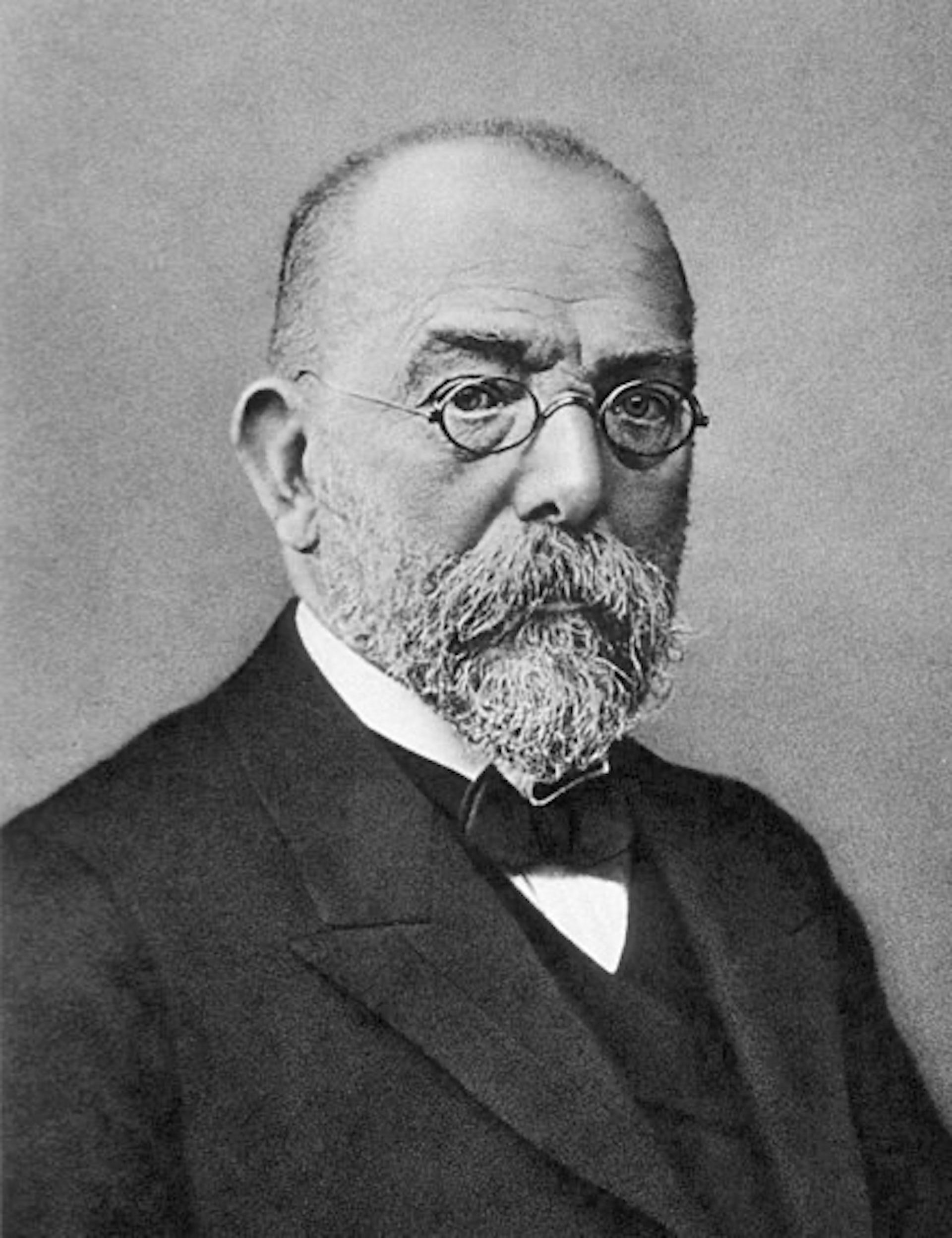 Robert Koch. Fuente: Wikipedia.org.