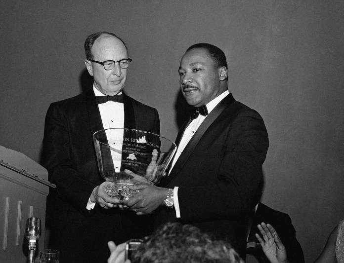 Rabbi Jacob Rothschild and Dr. Martin Luther King Jr.