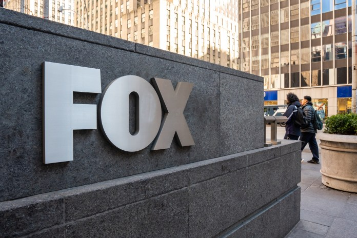 A Fox building in New York City