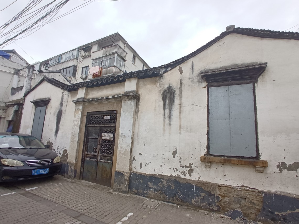Side view of a building that was once a mosque in Suzhou, China.