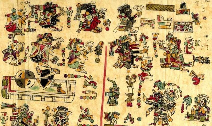 A depiction of Mixtec life
