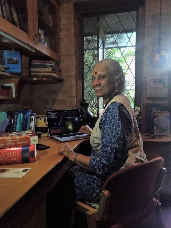 Prajval Shastri assis à son bureau
