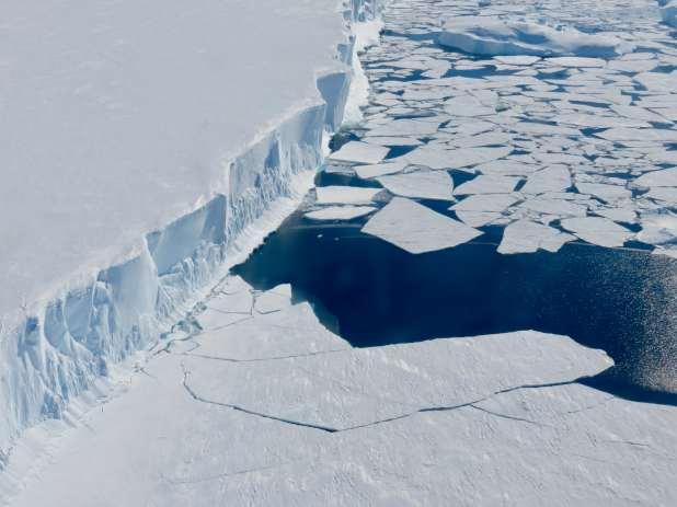 Edge of the West Antarctic Ice Sheet