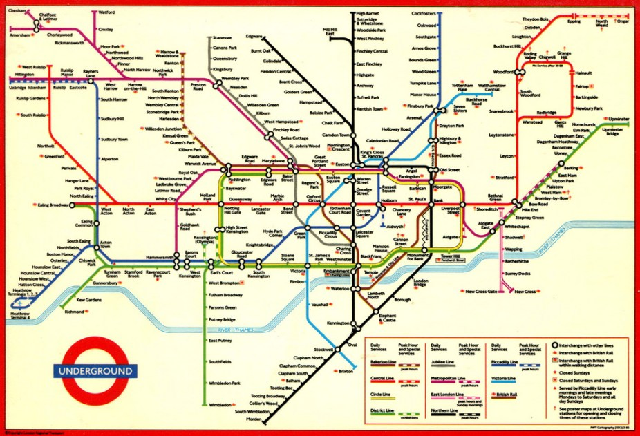 Sublime design: the London Underground map