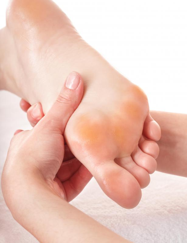 Individuals suffering from neuropathy may not notice scratches on their feet.