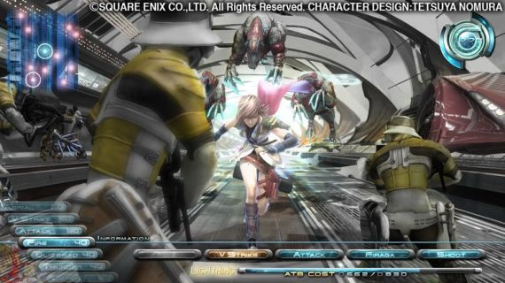 Final Fantasy XIII Battle