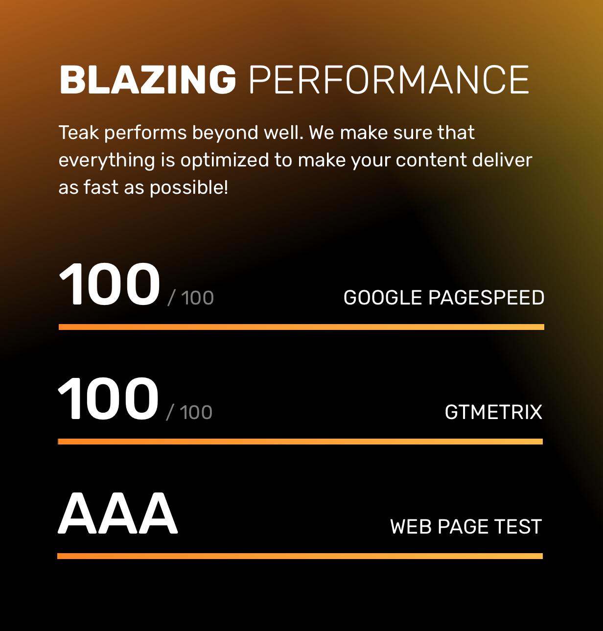 Teak HTML — High quality HTML templates for your portfolio