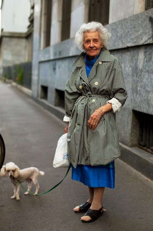 On The StreetTrench Tie Milano The Sartorialist