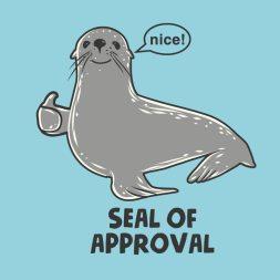 Resultado de imagem para seal of approval