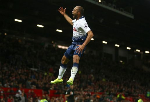 Image result for lucas moura old trafford