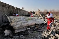 "Rescue workers this week searched the scene where a Ukrainian plane crashed in Shahedshahr, southwest of the capital Tehran, Iran. Iran on Saturday acknowledged that its armed forces ""unintentionally"" shot down the Ukrainian jetliner that crashed earlier this week, killing all 176 aboard, after the government had repeatedly denied Western accusations that it was responsible."