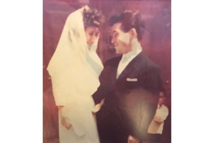 Maria and Joa Catarino married 57 years ago in a small village in their hometown of Portugal.