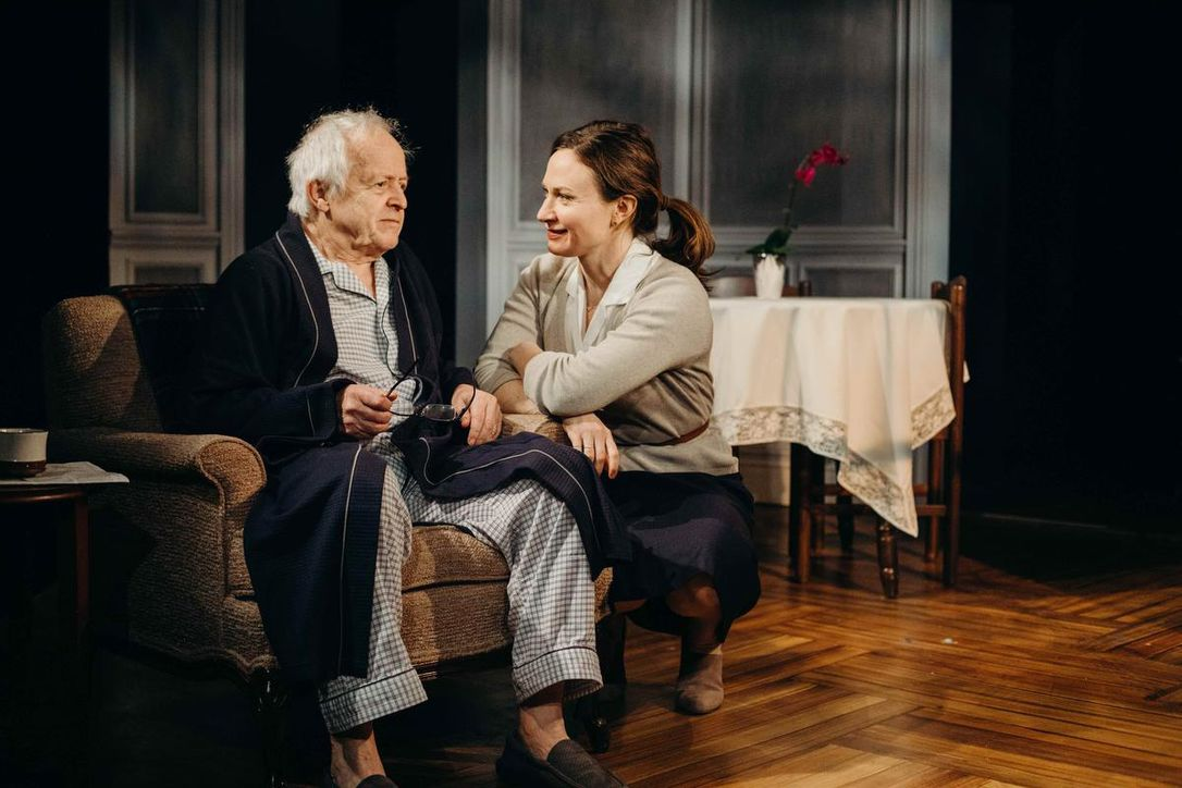 Eric Peterson is a man with dementia and Trish Fagan is the foster daughter of The Father at Coal Mine Theater.