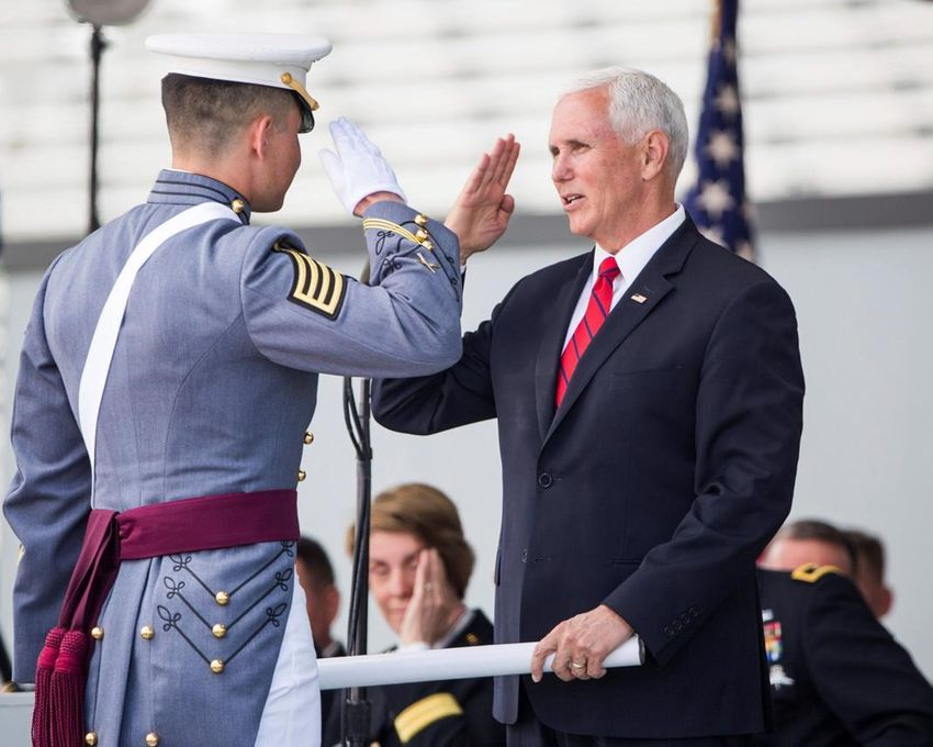 Mike Pence: West Point grads should expect to see combat ...