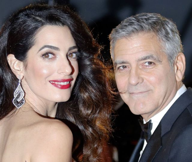 Popular Tiff Attendee George Clooney Pictured With Amal Clooney Is Headed To The Festival
