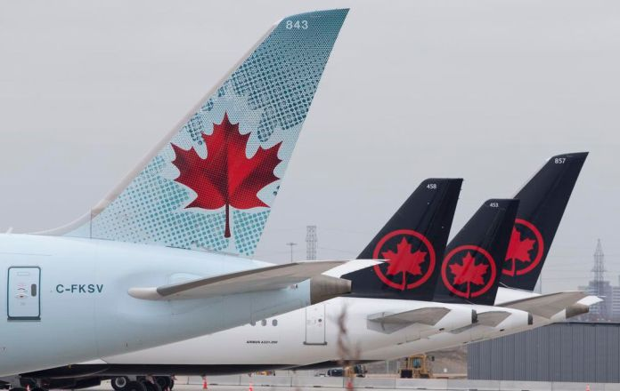 Air Canada temporarily lays off over 5,000 employees; B.C. reports ...