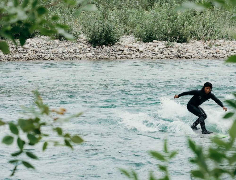 No ocean waves? No problem. River surfing is taking off in landlocked Canada
