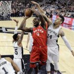 Spurs Remain Unbeaten, Hand Toronto First Loss