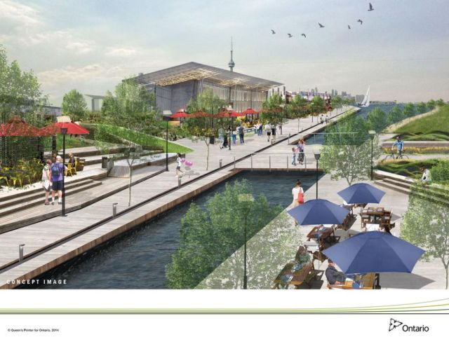 """Revitalization of Ontario Place was already underway under the previous provinvincial government, with possibilities including a """"canal district."""""""