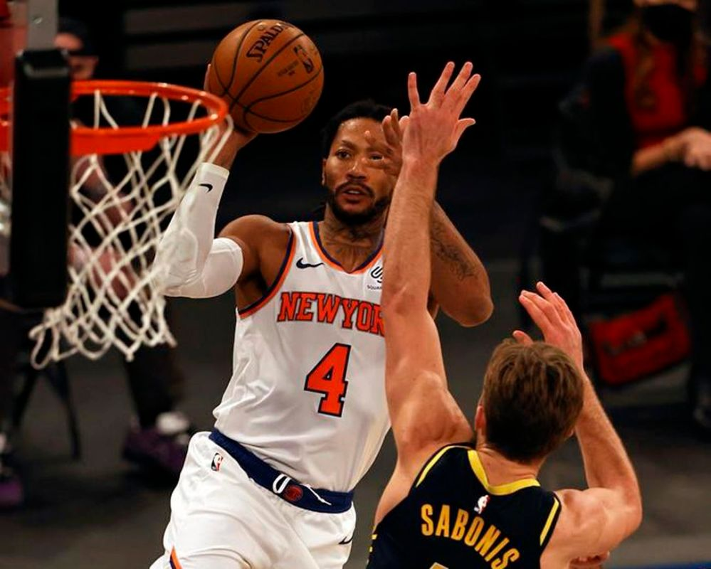 Knicks outlast Pacers 110-107 behind Randle's double-double    NiagaraFallsReview.ca