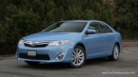 review 2012 toyota camry hybrid the truth about cars. Black Bedroom Furniture Sets. Home Design Ideas