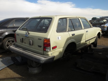 14 - 1983 Honda Civic Wagon Down On the Junkyard - Picture courtesy of Murilee Martin