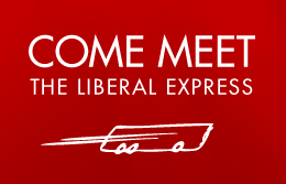 Come meet the Liberal Express