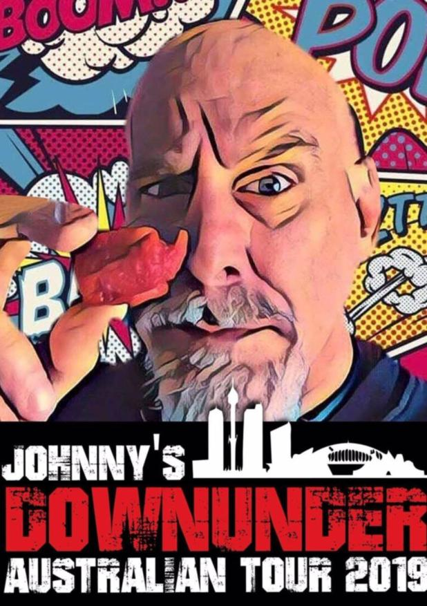 Johnny Scoville is a guest at the Araluen Chilli & Herb Festival.