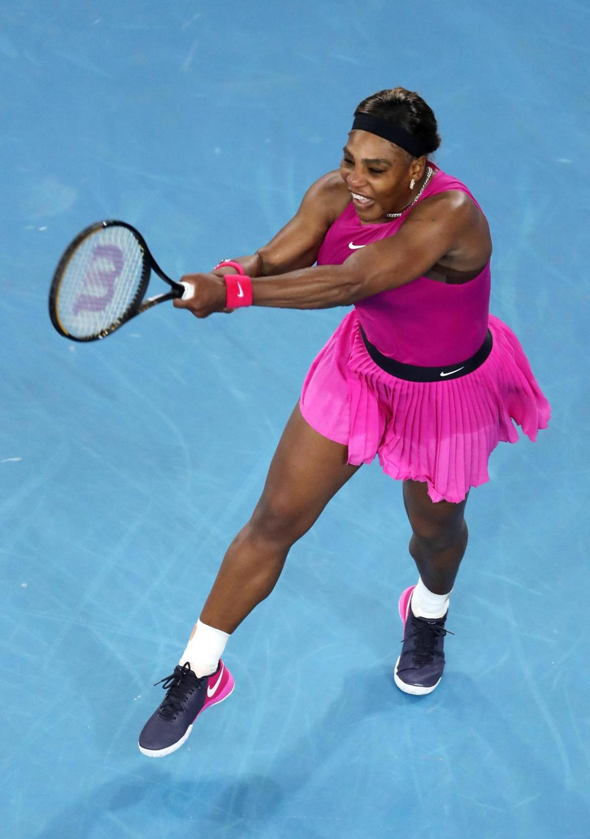 Serena Williams is set to be fit for the Australian Open starting Monday.