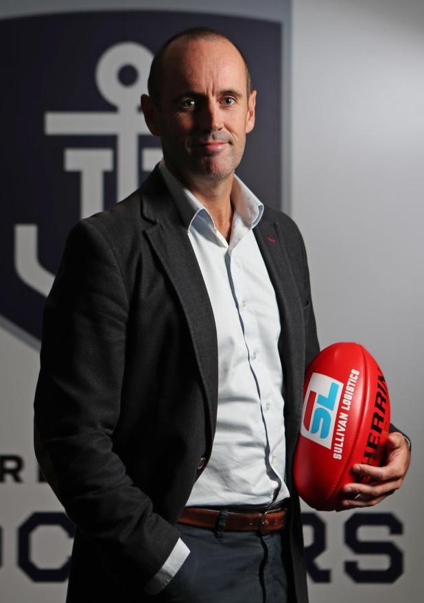 Fremantle chief executive Simon Garlick spoke to the media today.