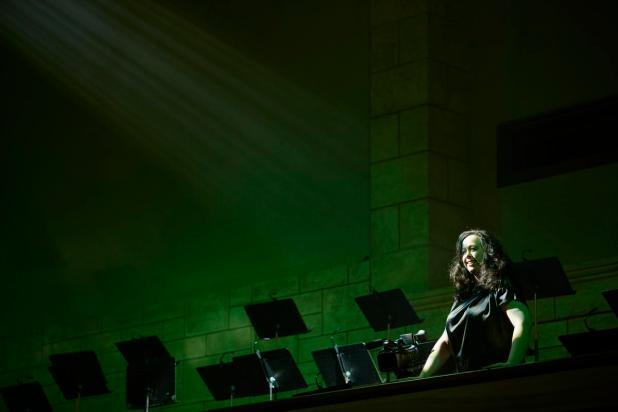 Mezzo soprano Chelsea Kluga calls down wrath on Elijah in WA Opera and UWA's production at Winthrop Hall.