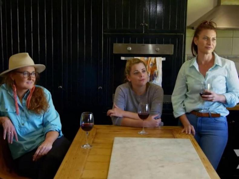 Rob asked to meet the three women in the kitchen to break the news.