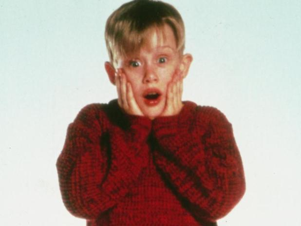 Macaulay Culkin is famous for his role in Home Alone.