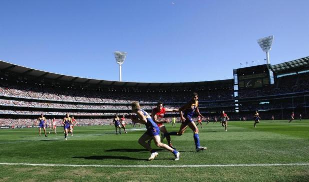 2006 AFL Grand Final. West Coast Eagles v Sydney Swans.