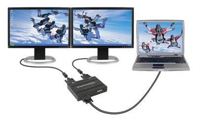dual laptop screens