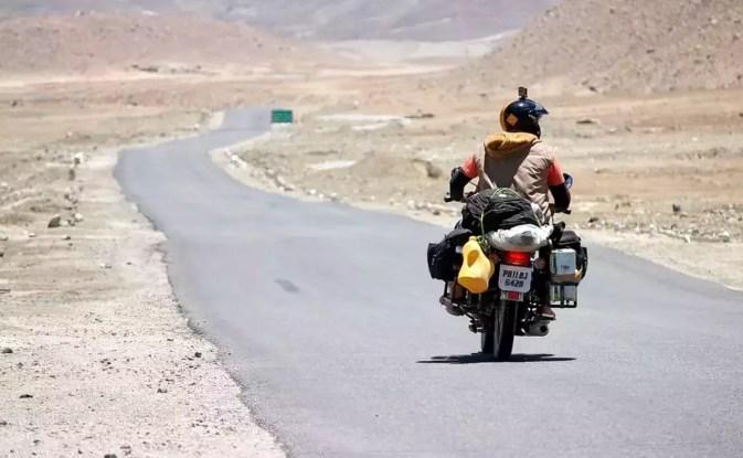 Image result for manali to leh on bike