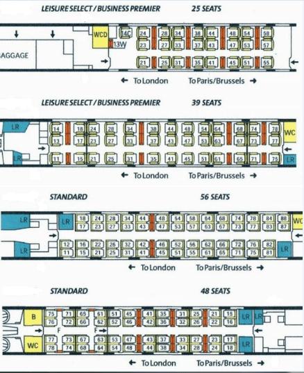 eurostar seating chart coach 16. Black Bedroom Furniture Sets. Home Design Ideas