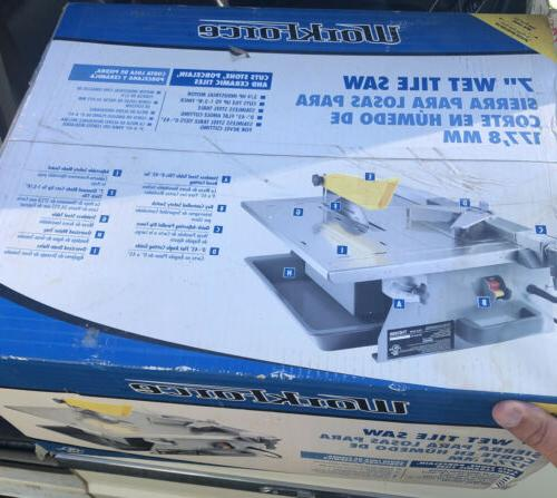 workforce thd550 7 wet tile saw new sealed