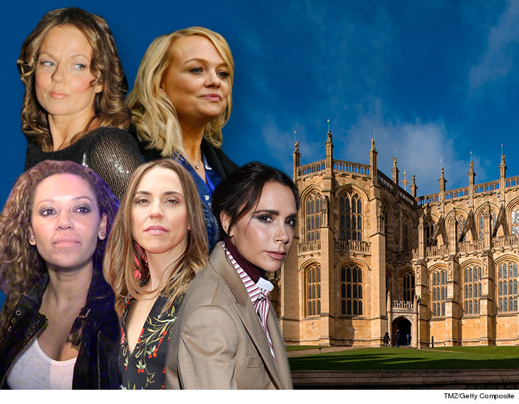 Mel B might've played too fast and loose with the truth by implying the  Spice Girls were performing at the Royal wedding, 'cause they're not — at  least for ...