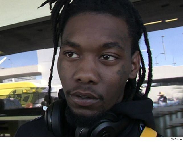 Cops Say Offset Was Weaving in Lanes When They Pulled Him Over