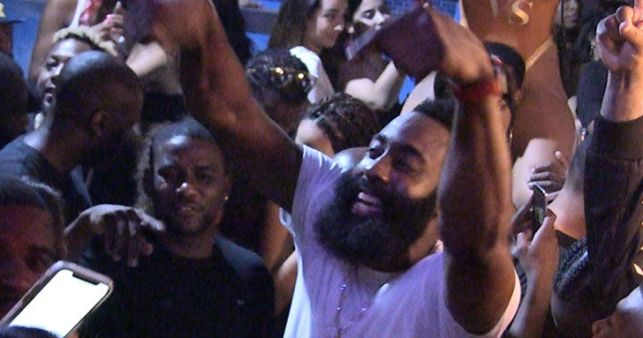 James Harden's Dayclub Dance Party, Is That a Coffin?!