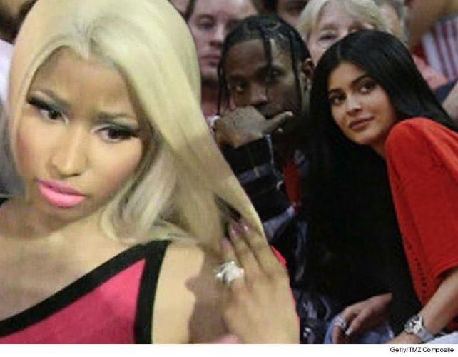 Nicki Minaj Slams Kylie Jenner & Stormi for Fueling Travis Scott's Album to #1