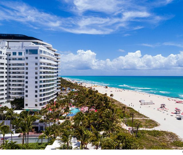 Our Sources Say Kanye And Kim Plan To Split Their Time Between L A And Miami The New South Beach Pad Is In A Super Exclusive Building Dubbed Billionaire