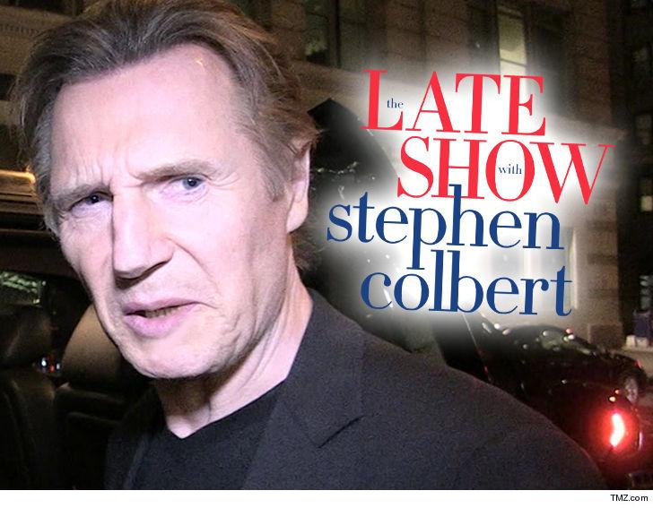 Liam Neeson aurait annulé son apparition avec Late Colbert