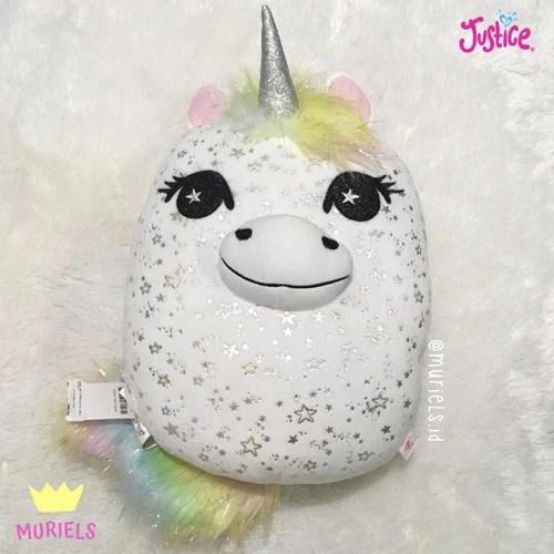justice original unicorn pillow bantal anak di muriels tokopedia