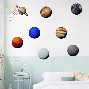 Jual Solar System Wall Stickers Space Wall Decals Kids Room Decor Cute Kab Bogor Agunk Sejahtera Tokopedia