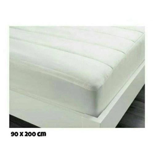 Jual Ikea Parlmalva Pelindung Kasur 90x200 Cm Mattress Cover Protector Kab Bandung Fats123 Tokopedia
