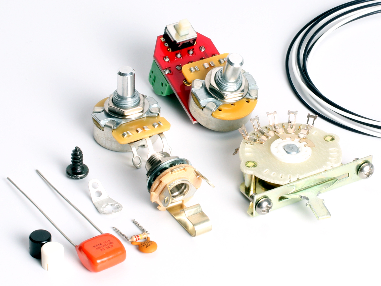 ToneShapers Wiring Kit, Telecaster, SS10 (4-Way TS W/ TCB
